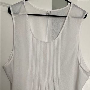 St. Johns bay white swimsuit coverup 2X